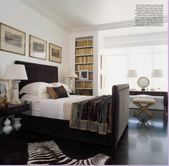 Simple Masculine Bedroom: COTE DE TEXAS: J. Randall Powers